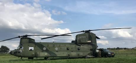 Grote Chinooks vliegen over Achterhoek