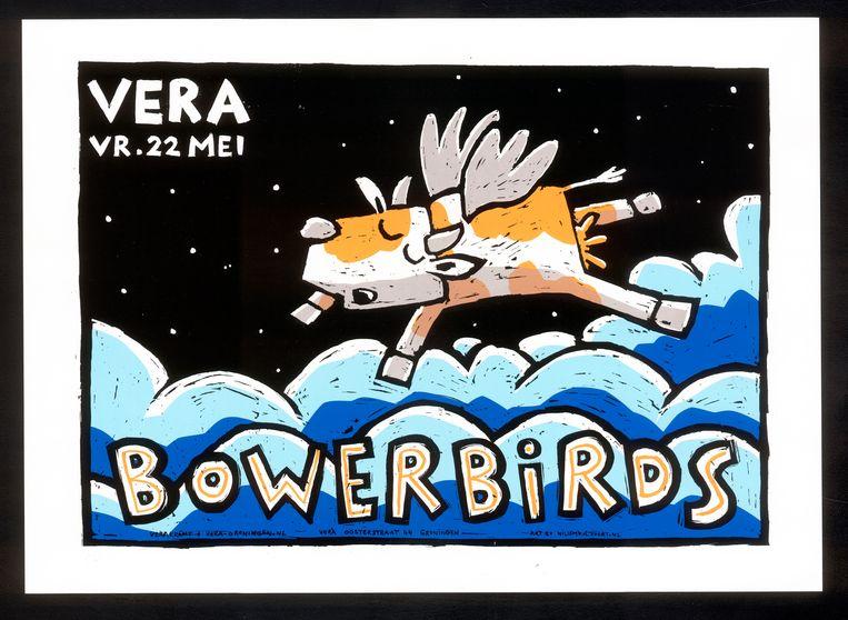 Bowerbirds Beeld Willem Kolvoort