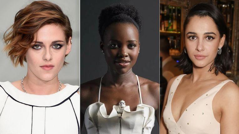 Kristen Stewart, Lupita Nyong'o en Naomi Scott