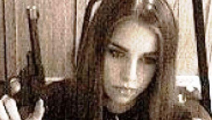 Een oude MySpace-foto van Jasmine Richardson uit de tijd dat ze met Jeremy Steinke omging.