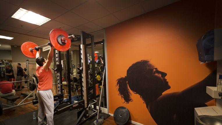Een fitnesscentrum van Basic Fit in Amsterdam. Beeld Hollandse Hoogte