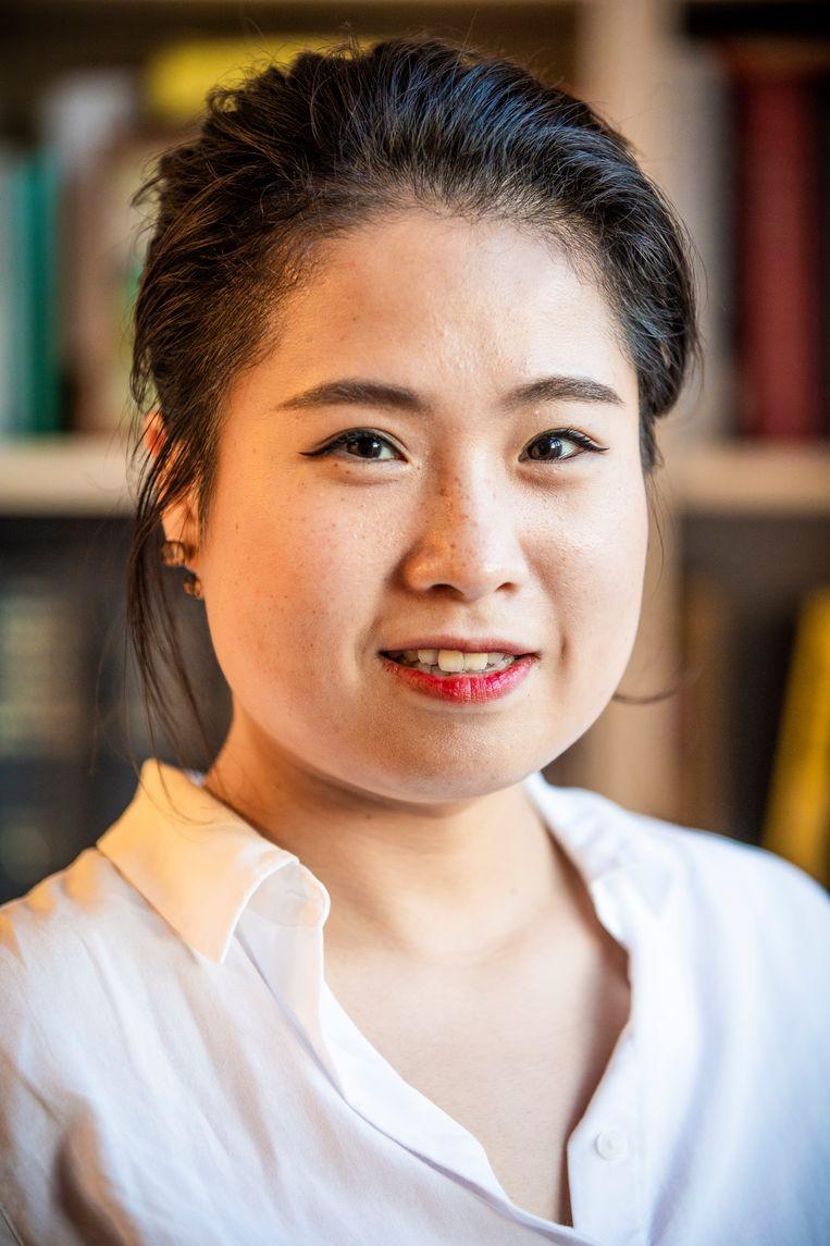 Tracy Zhu uit China. Beeld Freek van den Bergh / de Volkskrant