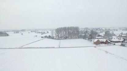 VIDEO. Dronebeelden tonen prachtig sneeuwlandschap