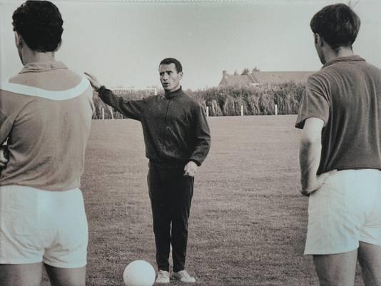 Trainer Cas Hubregtse.