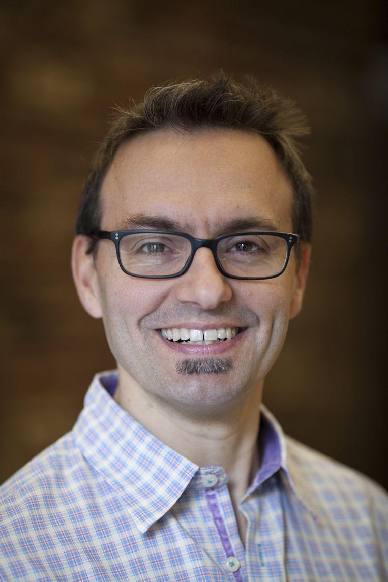 Andrew Trader, investeerder en mede-oprichter van Zynga in San Francisco. Zynga ontwikkelt social games voor smartphones en websites. Beeld Peter Dasilva/HH