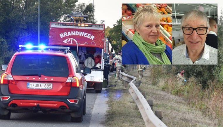 Lena Vangheluwe (66) en Henri Vanlerberghe (69)