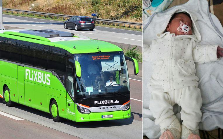 Zenep werd geboren op een Flixbus die vanuit Barcelona op weg was naar Brussel.