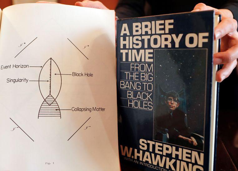 Enkele van de persoonlijke bezittingen van Hawking die worden geveild.