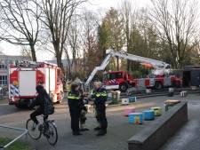 Christelijk Lyceum in Veenendaal ontruimd wegens brand in toilet
