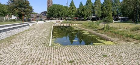 Nieuw aangelegd Van Greunsvenpark in Vlijmen is prachtig én vies