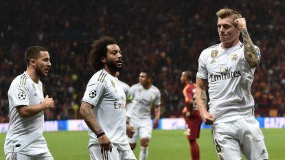Real pakt cruciale zege tegen Galatasaray: assist voor Hazard, hoofdrol voor Courtois