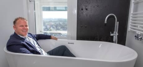 Wonen in een watertoren: in bad met een uitzicht tot Antwerpen