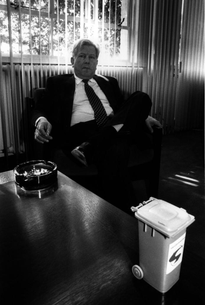 Leo van Gansewinkwel op een archieffoto uit 1993.