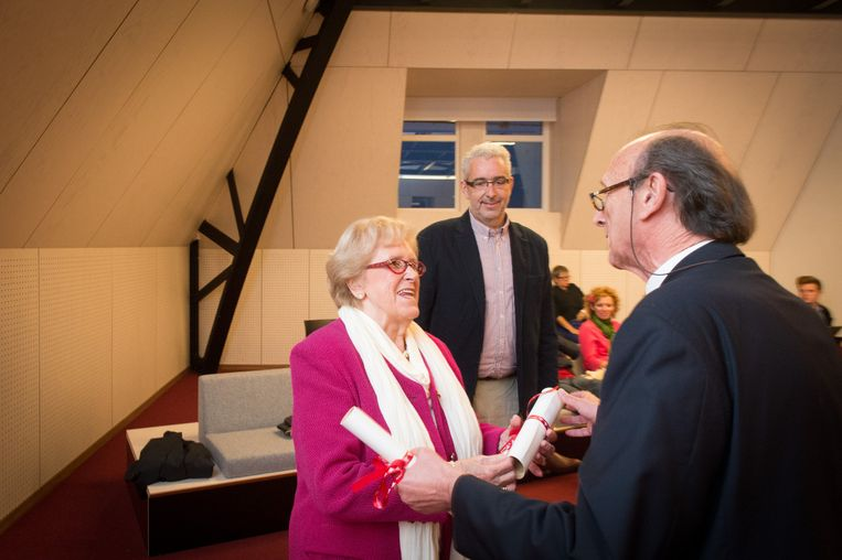 Guido Van den Bogaert en zijn moeder Elsa Ceulemans krijgen de titel van ereschepen van de Stad Lier.