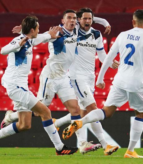 Atalanta op gelijke hoogte met Ajax na stunt bij Liverpool