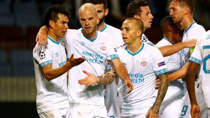 PSV zonder Rigo wint na attractief slot op het veld van BATE Borisov en neemt optie op CL-groepsfase, Svilar ziet Benfica niet verder geraken dan draw