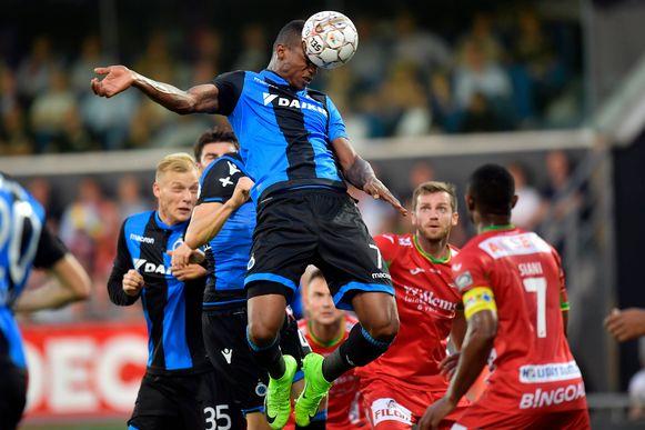 Wesley scoorde met de kop tegen KV Oostende.