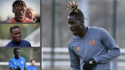 IN BEELD. De kapsels van Kara: van brosse nieuwkomer bij Genk tot Anderlecht-verdediger met ananas-coupe