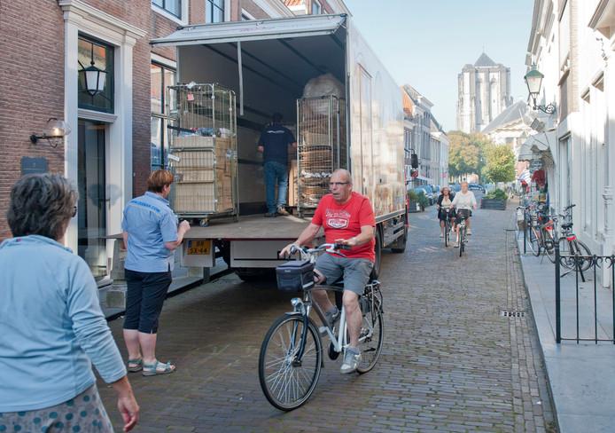 De Poststraat in Zierikzee