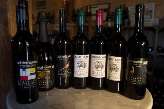 Achterhoekse wijnen.