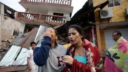 Paniek door zware aardbeving in Ecuador