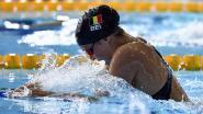 EK zwemmen. Fanny Lecluyse zwemt naar zesde stek in finale 200m schoolslag