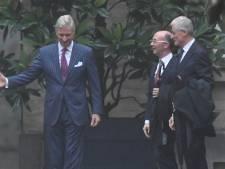 Rudy Demotte et Geert Bourgeois sont arrivés au Palais
