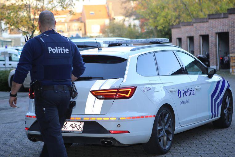 De politie kwam ter plaatse voor de nodige sporenopname