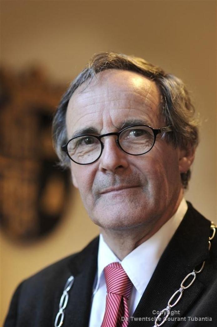 Burgemeester Stegers krijgt eind dit jaar eervol ontslag.