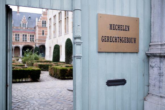 MECHELEN - Het gerechtsgebouw van Mechelen.