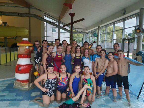 De zwemclub beleeft rond haar honderdjarig bestaan dezelfde gloriedagen als in de jaren 1960.