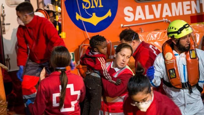 Vier migranten gestorven en zestien mensen nog vermist na schipbreuk voor kust van Melilla