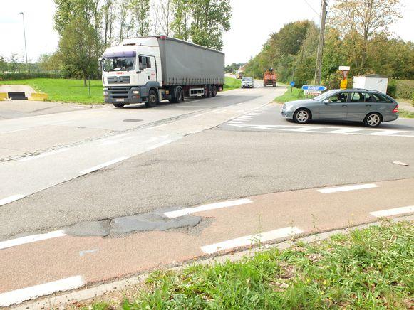 De Oostelijke Rondweg zal in de Broekstraat, waar een rotonde komt,  aansluiten op de Herentalsesteenweg.