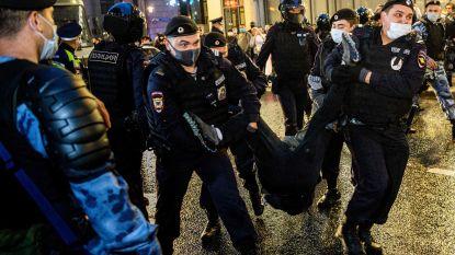 Ruim 130 arrestaties bij betoging in Moskou tegen referendum van Poetin