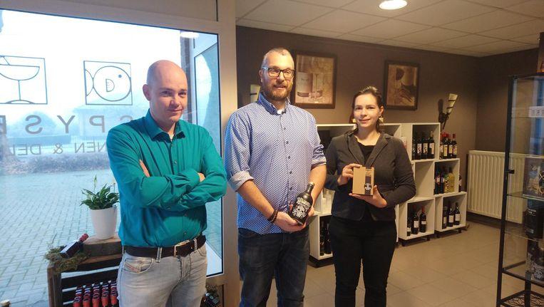 Guy Vriens, Kris Vandermast en Marijke Peeters in Spyse.be.
