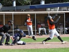 Nijmeegse honkballers van De Hazenkamp kunnen 'te laat' weer aan de bak