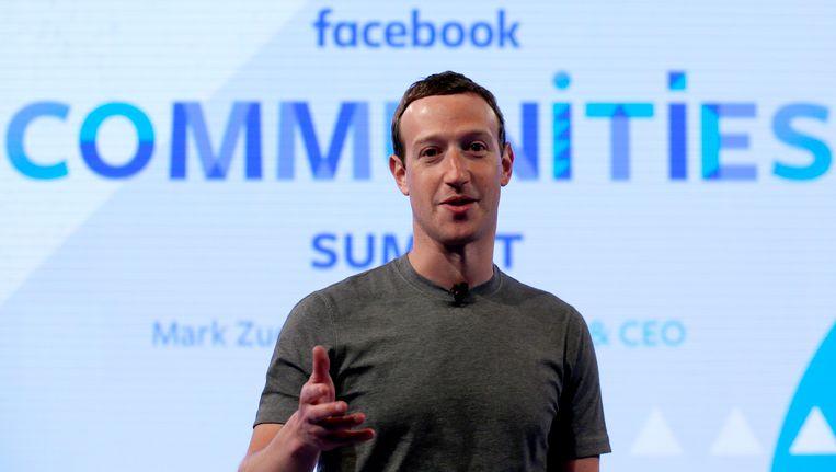 Mark Zuckerberg, CEO van Facebook