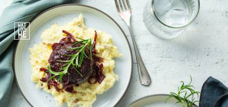 Wat Eten We Vandaag: Gehaktballen met rodewijnjus en aardappel-selderijpuree