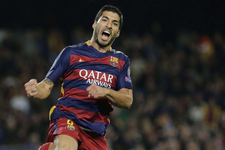 Ook Suárez trof raak