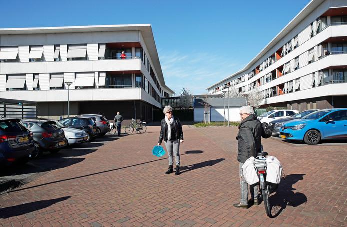 In woonzorgcomplex Nieuw Rijsenburgh in Sommelsdijk zijn meerdere bewoners besmet.