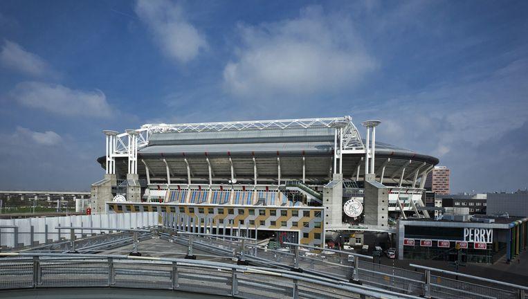 Amsterdam Arena, een van de deelnemingen die de gemeente mogelijk afstoot Beeld ANP