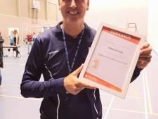 Willem de Vries van VC Polaris beste scheidsrechter