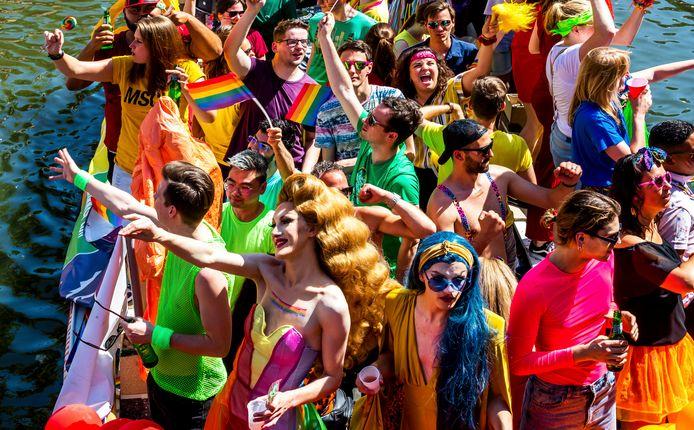 De Utrecht Canal Pride vindt dit jaar op 6 juni plaats.