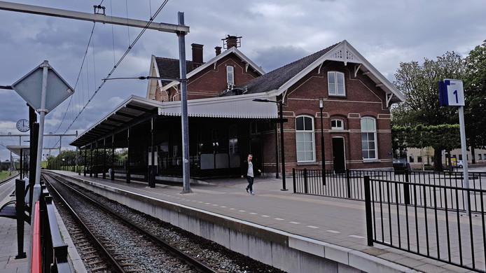 Het station in Sliedrecht waar de Merwedelingelijn langs komt