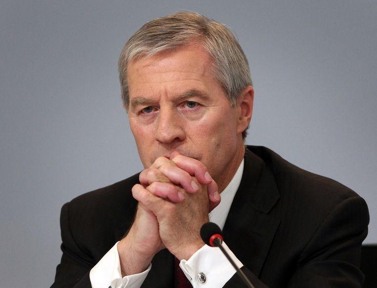 Jürgen Fitschen, huidig topman van de Deutsche Bank. Beeld AFP