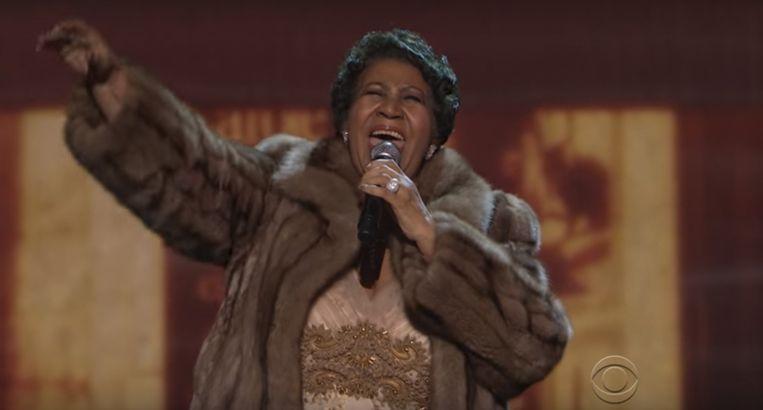 Aretha Franklin. Beeld