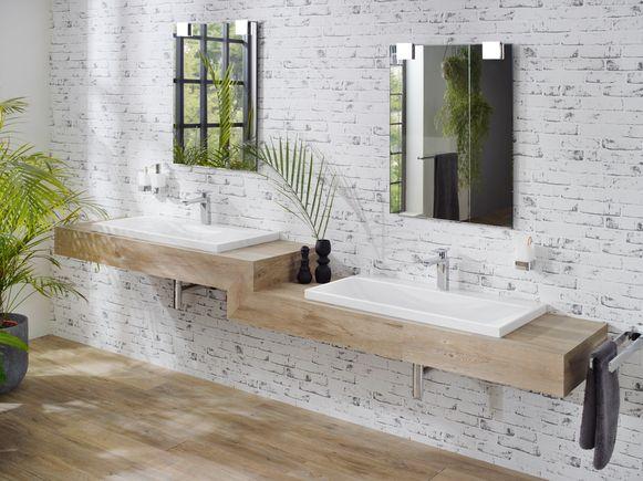 Met enkele slimme keuzes geniet je je hele leven van je badkamer zonder aanpassingswerken.