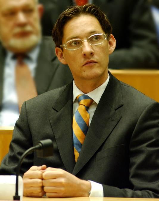 Joost Eerdmans als LPF-Kamerlid.