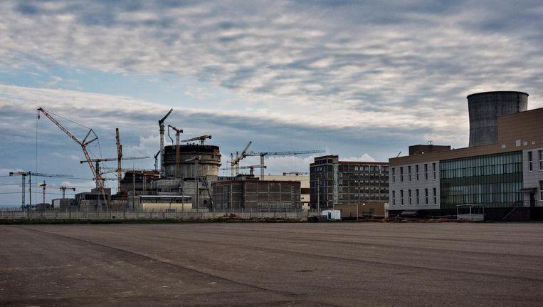 De in aanbouw zijnde kerncentrales in Varona in Wit-Rusland Beeld Yuri Kozyrev/ Noor