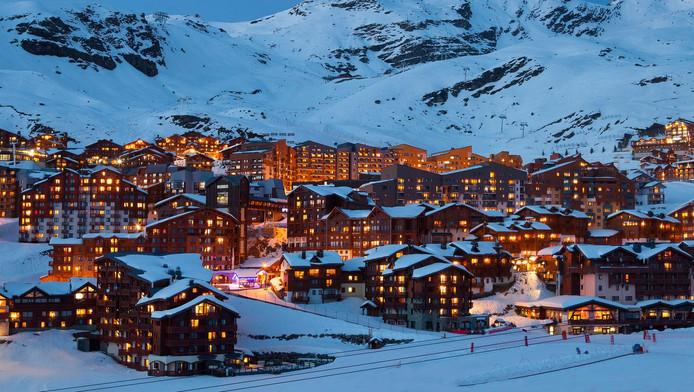 Val Thorens, plus haute station d'Europe et point culminant du domaine des 3 Vallées.